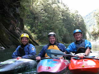 Kajakken in Nieuw Zeeland