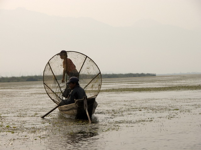 Motorboot in Myanmar