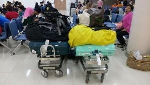 Teveel (hand)bagage
