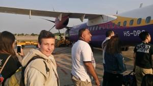 Helaas een propeller vliegtuig